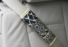 African Batik Seat Belt Strap Cover by ComfyAccessories on Etsy