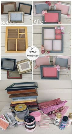 Trash to Treasure Frames (DIY Decorated Party Frames)