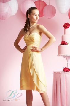 Buttercup Bridesmaid Dresses