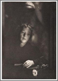 Clarence Hudson White (1871-1925), Girl with Rose - 1903