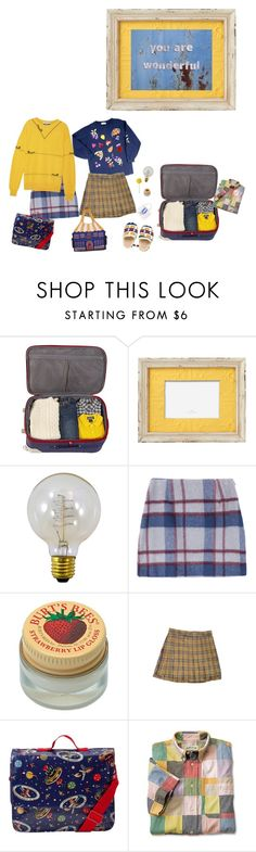 """""""read description"""" by momoheart ❤ liked on Polyvore featuring Dot & Bo, Nud, Burt's Bees, Cath Kidston and Moschino"""