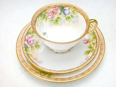Old Noritake trio  early 1900's