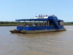 Gegenverkehr, nur eine begrenzte Anzahl von Booten darf gleichzeitig unterwegs sein, so dass die Tiere so wenig wie möglich gestört werden.
