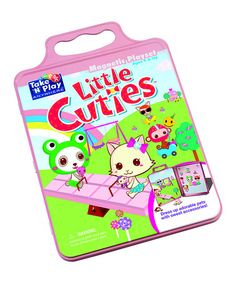 Loving this Little Cuties Activity Tin Set on #zulily! #zulilyfinds