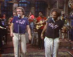 John Belushi and Joe Cocker on Saturday Night Live, 1976