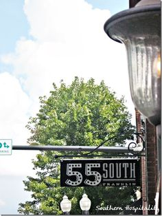 55 south in Franklin--fun stores and restaurants to try