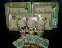 Fisher Price Its a Boy Bundle Party Supplies Baby shower #FisherPrice #BabyShower