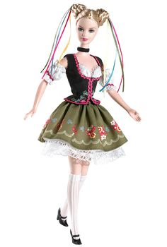 Oktoberfest Barbie® Doll | Barbie Collector Festivals of the World 2006