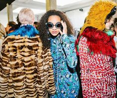 You cant really get the full experience of a fashion show unless youre there in person but our backstage photos come pretty close. Vogue Runway published thousands of behind-the-scenes photos in 2017 spanning two couture weeks two months of ready-to-wear coverage and two mens Fashion Weeks. Tap the link in our bio to view the best backstage photos from 2017. via VOGUE MAGAZINE OFFICIAL INSTAGRAM - Fashion Campaigns  Haute Couture  Advertising  Editorial Photography  Magazine Cover Designs…