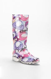 Coach rain boots - I soooooooo want these rain boots! Mud Boots, Shoe Boots, Wedge Boots, Bootie Boots, Coach Rain Boots, Fashion Heels, Sock Shoes, Coach Purses, Rubber Rain Boots