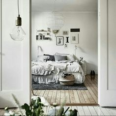 ▪ Dormitório com piso de madeira ▪ hhinspiration ▪ hhreferência ▪ interior design inspiration ▪