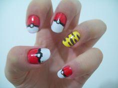 Meus Esmaltes: Pokémon Nails