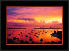 Sailboats in Glowing Red Sunset. Nautical. Wall Art. Office Art. Photograph. by VintageArtForLiving on Etsy https://www.etsy.com/listing/289476505/sailboats-in-glowing-red-sunset-nautical