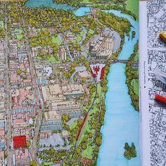 A Glance Of Cityscape Stevedmcdonald Stevemcdonald Coloringbook Coloringforadults Antistresstherapy