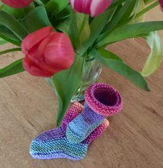 Slofjes #knitwear #baby
