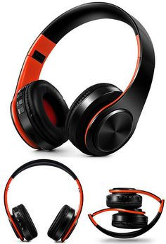 headphones Bluetooth Headset earphone Wireless Headphones Stereo Folda – Hotdeals24