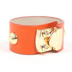 Andi Studded Cuff in Orange