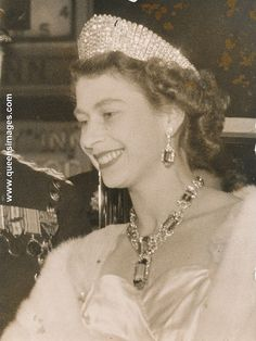 Queen Elizabeth at variety performance by romanbenedikhanson, via Flickr-November 1, 1954