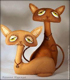 Шьём парочку кофейно-запеченых котиков Sadie и Jinx - Ярмарка Мастеров - ручная работа, handmade