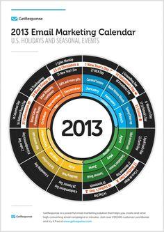 2013 Email Marketing Calendar
