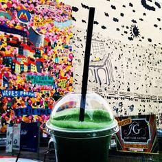 """Yummy: Green Smoothie """"Ginger Cleanser"""" von Veganz"""