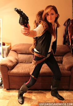 Han Solo: Loving this female take on our favorite scoundrel! Source: Tumblr user loveandasandwich