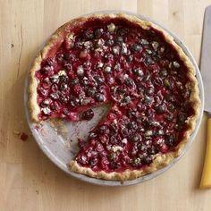 Cranberry Pie Recipe - Country Living