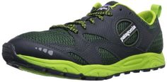Patagonia Men's Evermore Trail Running Shoe,Black/Urbanist,11 M US Claimed Weight: (single, size 9) 7.8 oz. Midsole: EVA. Closure: lace. Heel / Forefoot Height: 17 - 13 mm. Upper Material: breathable mesh, microfiber, PU coating.