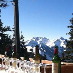 Telluride lunch at Alpino Vino on See Forever #ski #mountain #telluride