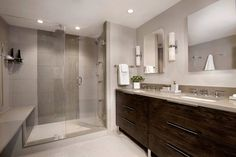 2016 NKBA Design Competition Winner - Before & After Bath  Name: Jaye Gordon Haddad Hakansso Design Studio  Co-Designer: Mark H. Haddad AKBD  Photo: Shelly Harrison by thenkba