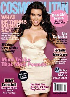 Kim Kardashian Cosmopolitan Magazine Australia Cosmo Cover