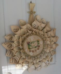 Valentine's Day Love Vintage Remains Wreath coming soon to Black Diamond Memory Furniture Booths.