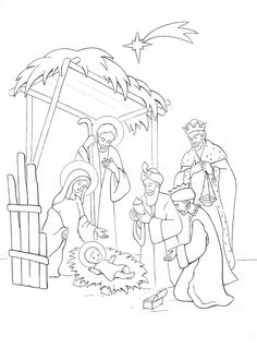 Pin by Pearl Balagtas on ChristmasArts Nativity Coloring Pages, Disney Coloring Pages, Christmas Coloring Pages, Animal Coloring Pages, Colouring Pages, Coloring Books, Christmas Nativity, Christmas Crafts For Kids, Xmas Crafts