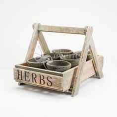 wooden tray with metal handles - Google Search