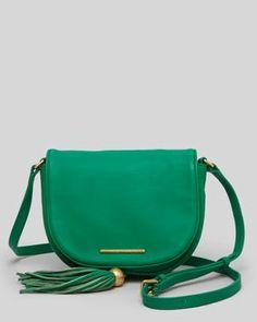{ green crossbody bag }