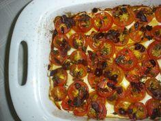 Entrada: Tomatinhos aoforno
