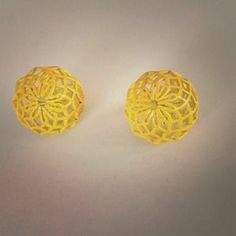 I just discovered this while shopping on Poshmark: Yellow Clipon Earrings. Check it out!  Size: OS