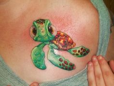 Squirt from Finding Nemo! ..cute but I wouldn't get it for myself.