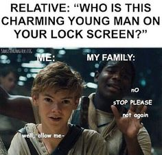 Thomas Sangster all around. <--- He genuinely has his childhood facial expression on in this picture and I literally love it.