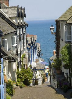 Clovelly Devon, England
