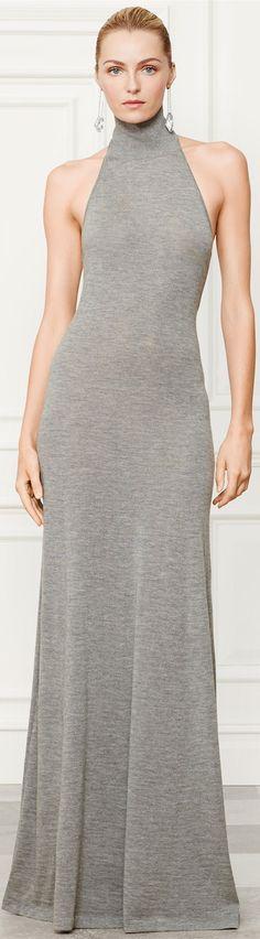Ralph Lauren Fall 2014 ● Cashmere Halter Dress