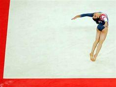 Alexandra Raisman's gold-medal perfermance at the Olympics