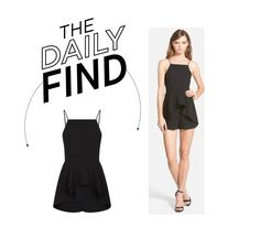 """""""Daily Find: Finders Keepers Playsuit"""" by polyvore-editorial ❤ liked on Polyvore featuring Finders Keepers and DailyFind"""