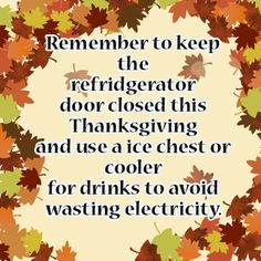 Check out our Thanksgiving themed energy saving tip! Energy Saving Tips, Save Energy, Power Bill, Cool Tools, Energy Efficiency, Saving Money, Thanksgiving, Check, Energy Conservation