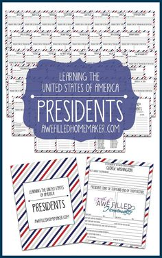 Looking for President's Day resources?! Look no further! We have a military themed article, complete with books and a FREE printable pack! via @Awe Filled Homemaker