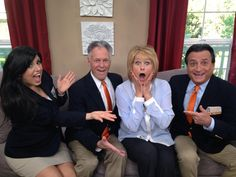 """""""LIKE"""" if you're excited that the Prize Patrol is on Home & Family tomorrow! PCH Publishers Clearing House fans will love the interview! Tune into the Hallmark channel at 10:00AM ET/9:00AM CT."""