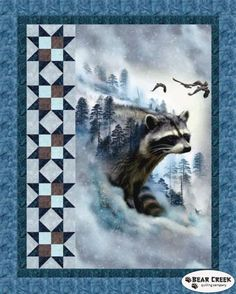 Call Of The Wild Free Quilt Pattern by Hoffman Fabrics