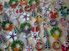 My Christmas decorations 2014 - Facebook/ Zen Quilling