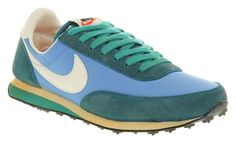 Mens Nike Elite Vintage Coast Blu/green Trainers Shoes