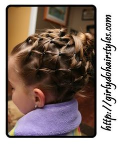 Cute hair-do's for girls